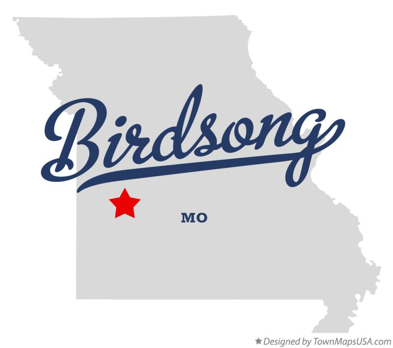 Map of Birdsong Missouri MO