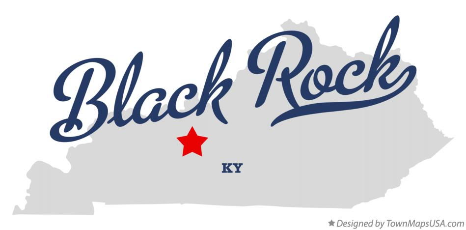 Map of Black Rock Kentucky KY