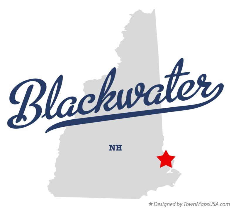 Map of Blackwater New Hampshire NH