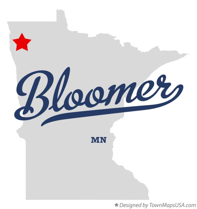 Map of Bloomer Minnesota MN