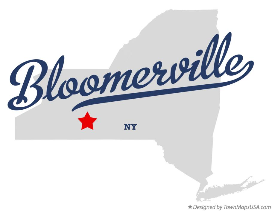 Map of Bloomerville New York NY