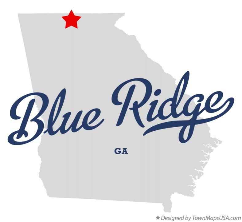Image result for blue ridge ga townmapsusa