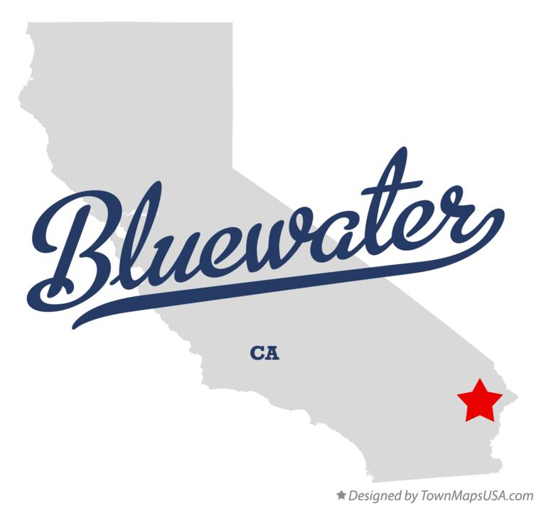 Map of Bluewater California CA