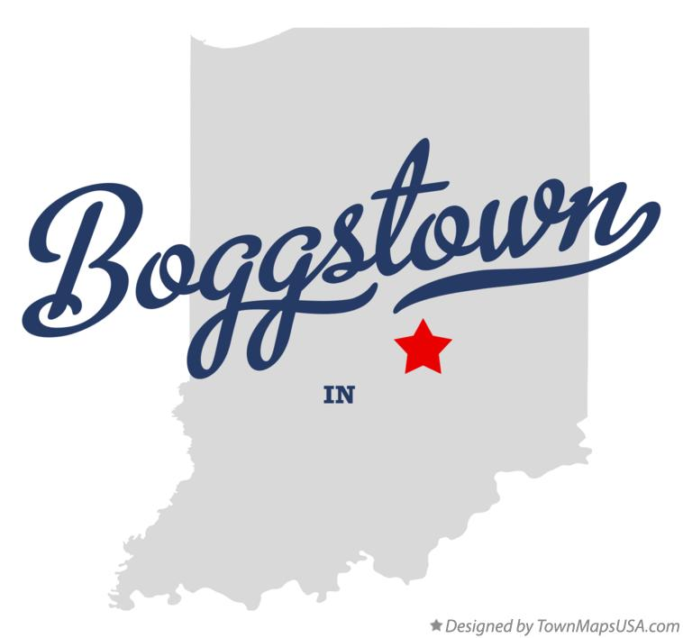 Boggstown Indiana Map.Map Of Boggstown In Indiana