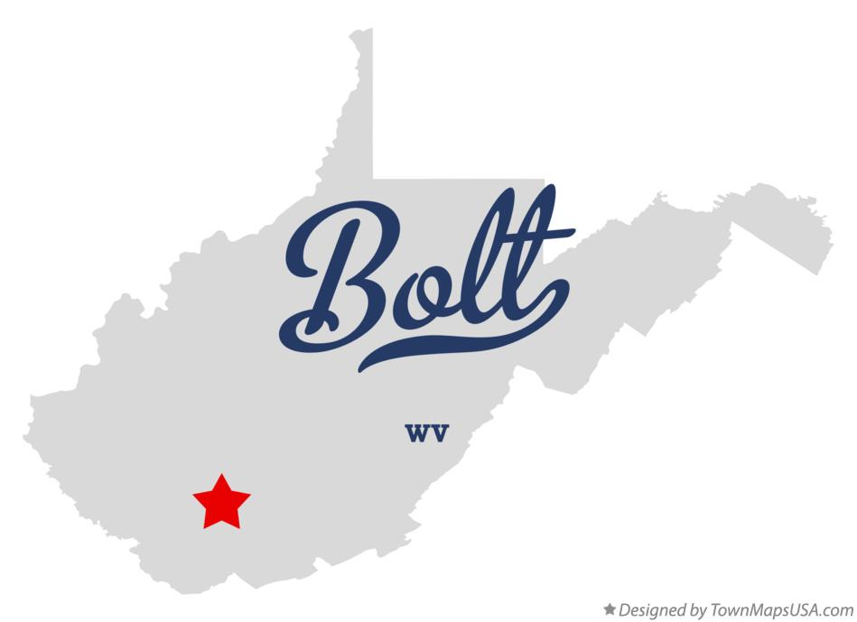 Map of Bolt West Virginia WV