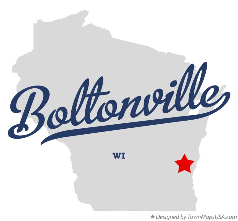 Map of Boltonville Wisconsin WI