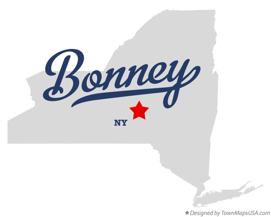 Map of Bonney New York NY