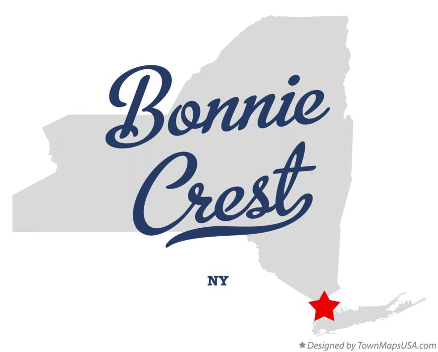 Map of Bonnie Crest New York NY