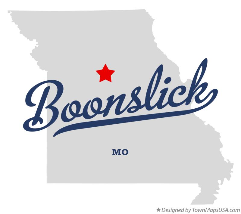 Map of Boonslick Missouri MO