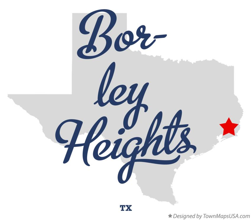 Map of Bor-ley Heights Texas TX