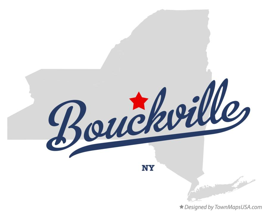 Map of Bouckville New York NY