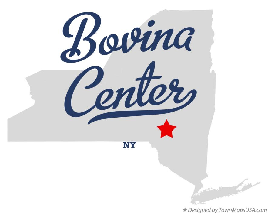 Map of Bovina Center New York NY