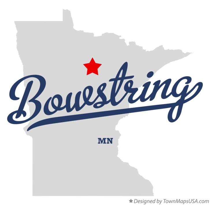 Map of Bowstring Minnesota MN
