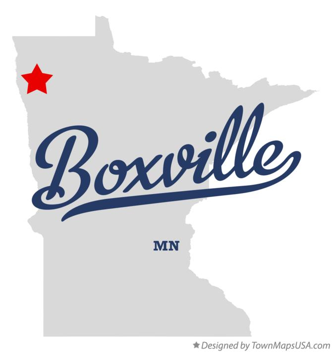 Map of Boxville Minnesota MN