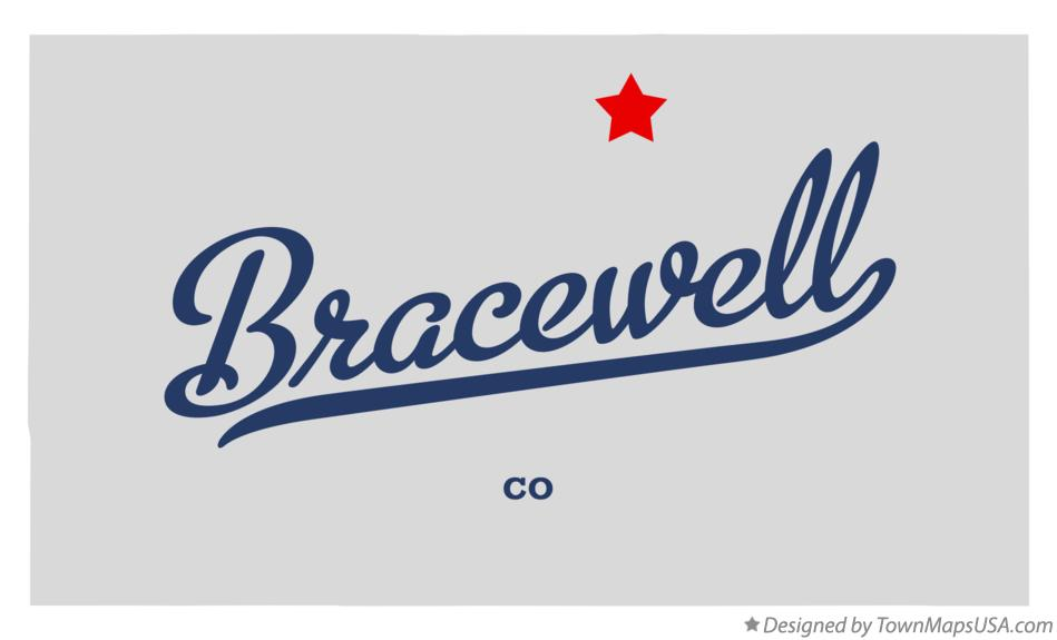 Map of Bracewell Colorado CO