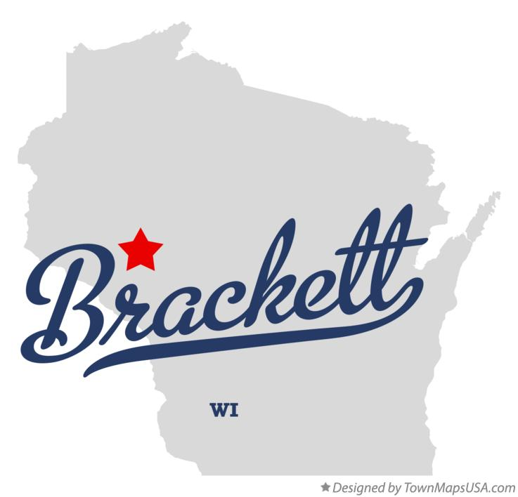 Map of Brackett Wisconsin WI