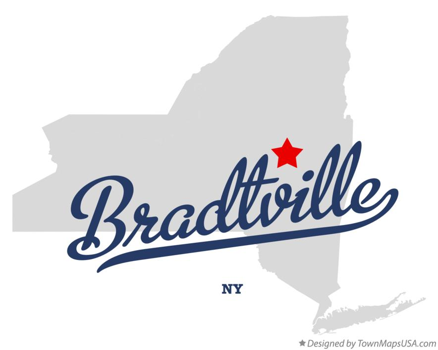 Map of Bradtville New York NY