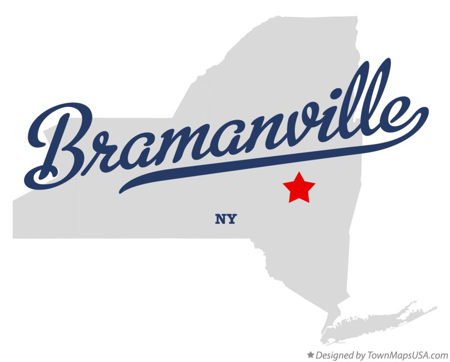 Map of Bramanville New York NY