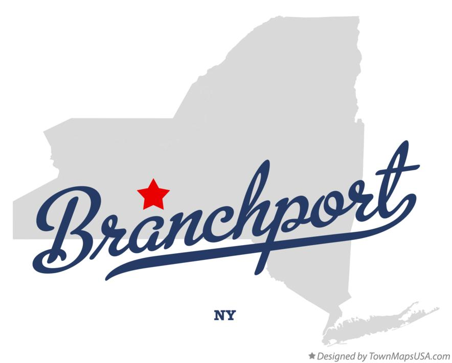 Map of Branchport New York NY
