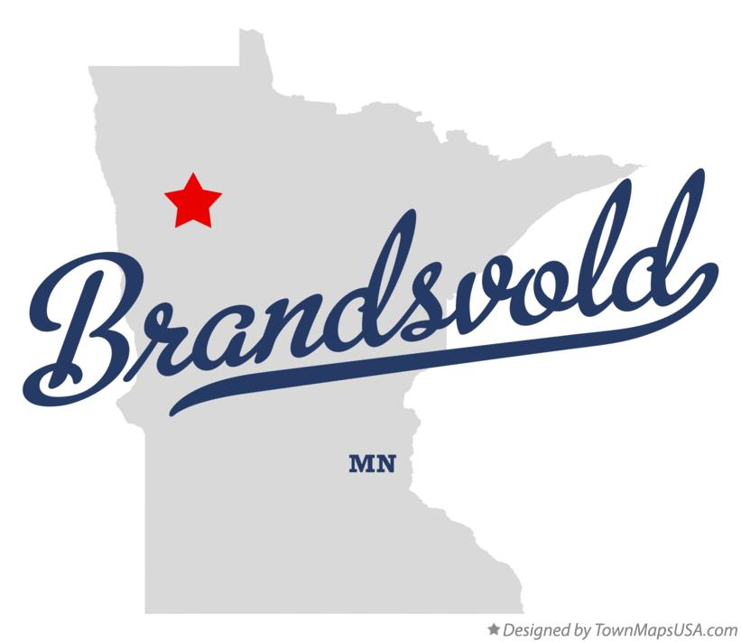 Map of Brandsvold Minnesota MN