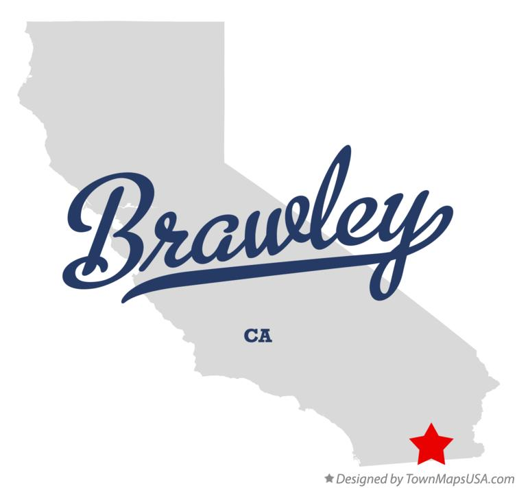 Brawley California Map.Map Of Brawley Ca California