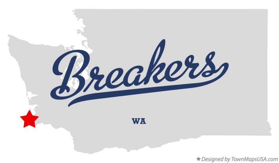 Map of Breakers Washington WA
