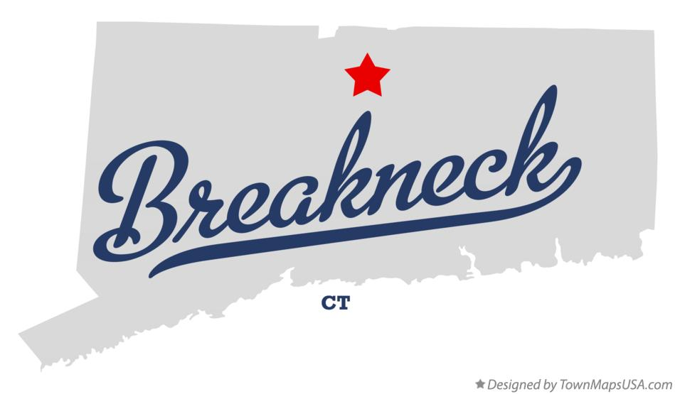 Map of Breakneck Connecticut CT