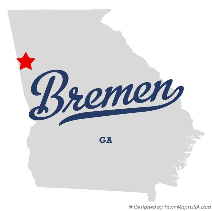 Austell Georgia Map Map of Bremen Georgia ga