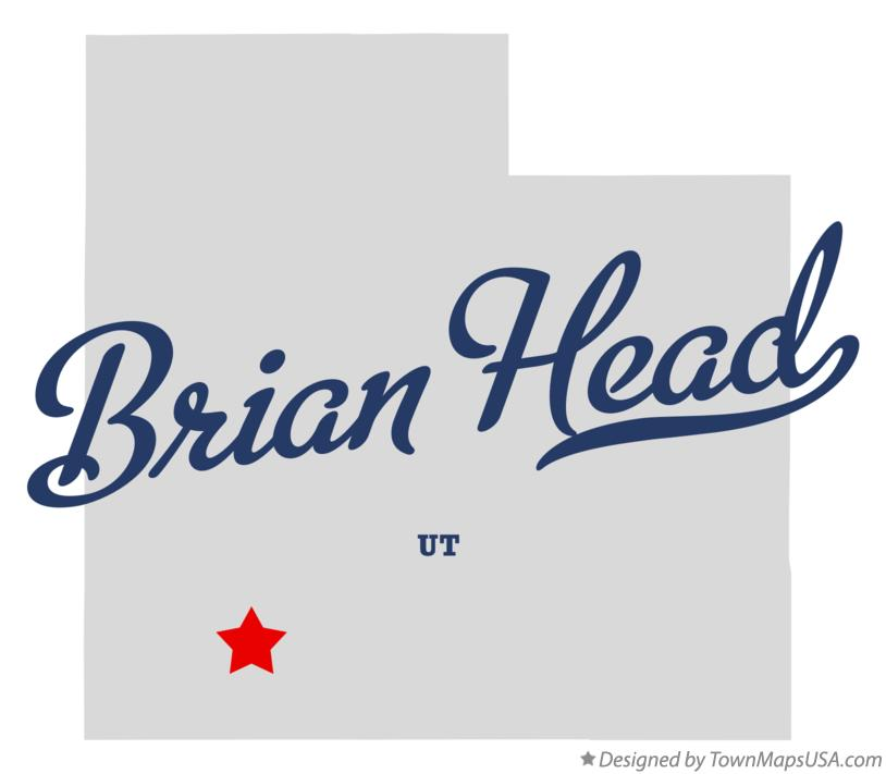 Map of Brian Head Utah UT