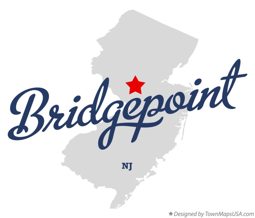 Map of Bridgepoint New Jersey NJ