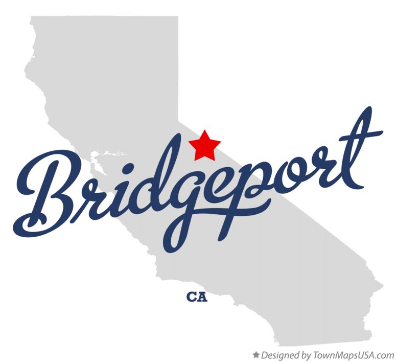 Map of Bridgeport California CA