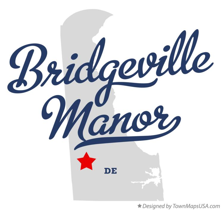 Map of Bridgeville Manor Delaware DE