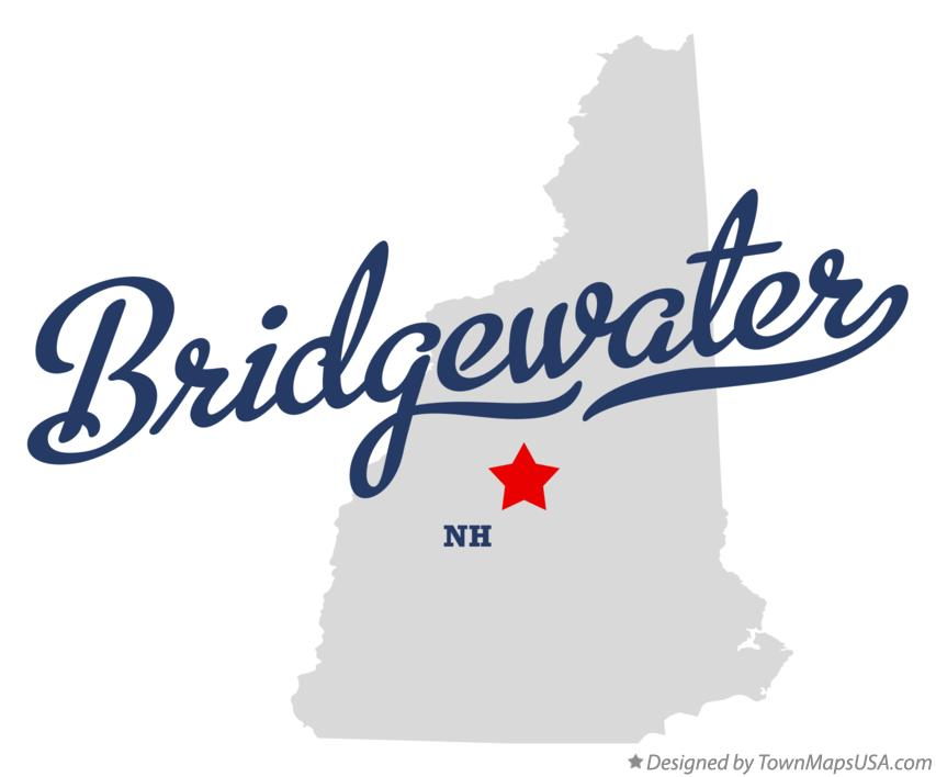 Map of Bridgewater New Hampshire NH