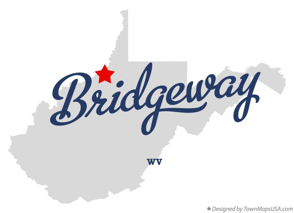 Map of Bridgeway West Virginia WV