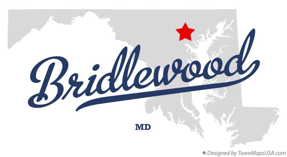 Map of Bridlewood Maryland MD