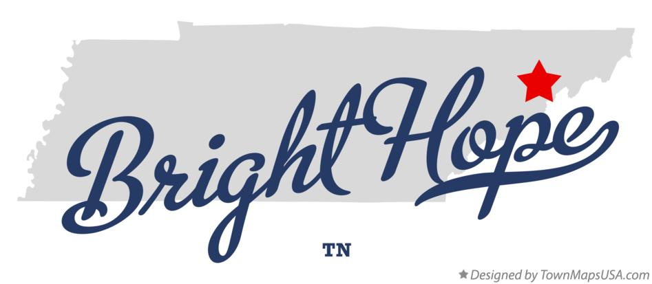 Map of Bright Hope Tennessee TN