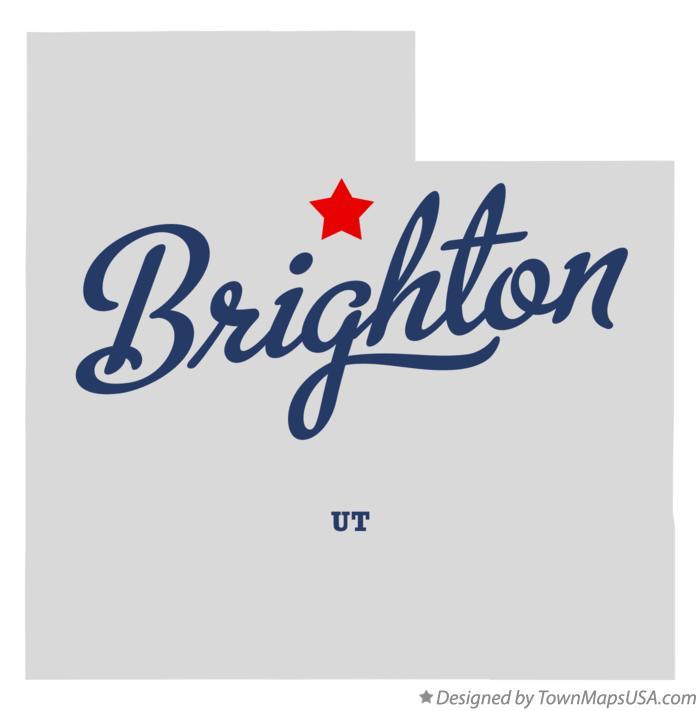 Brighton Utah Map.Map Of Brighton Ut Utah