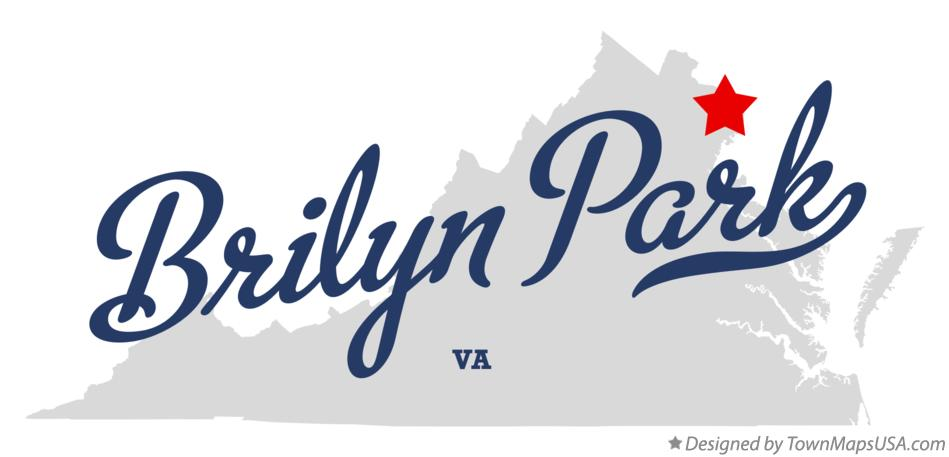 Map of Brilyn Park Virginia VA