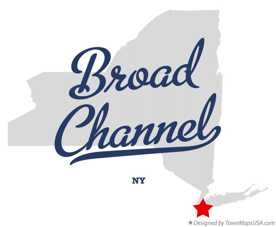 Map of Broad Channel New York NY
