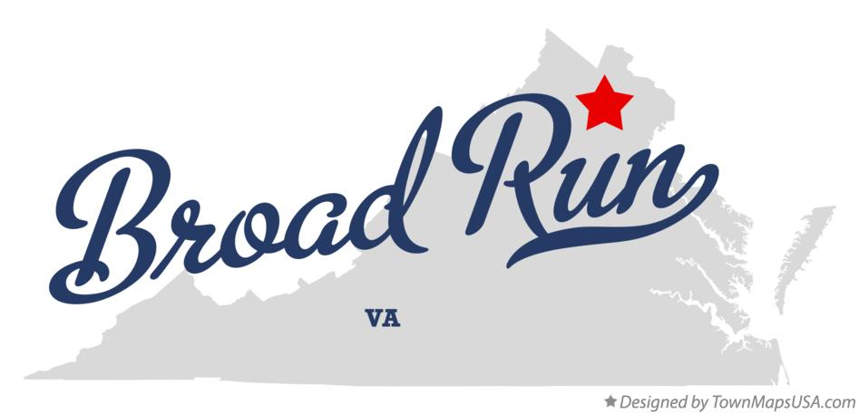 Map of Broad Run Virginia VA