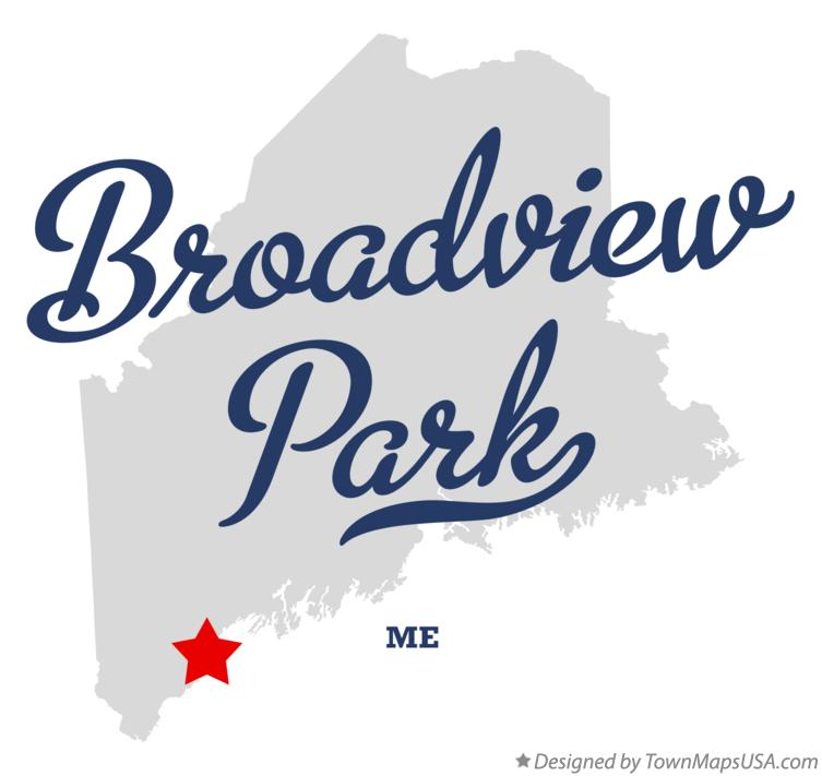 Map of Broadview Park Maine ME