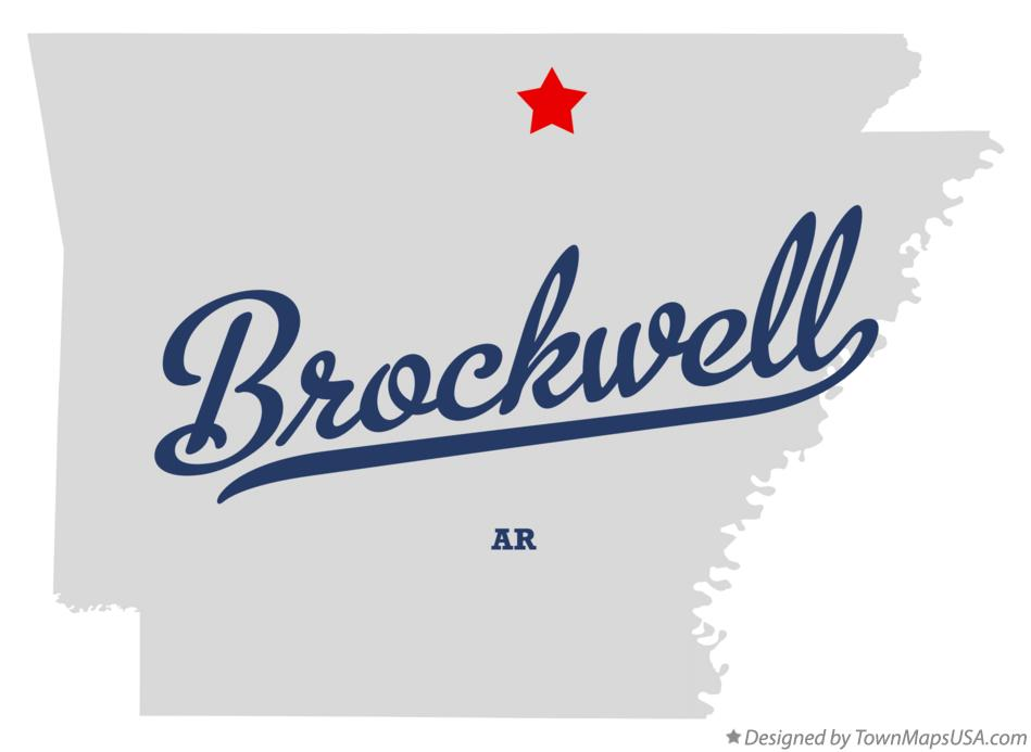 Map of Brockwell Arkansas AR