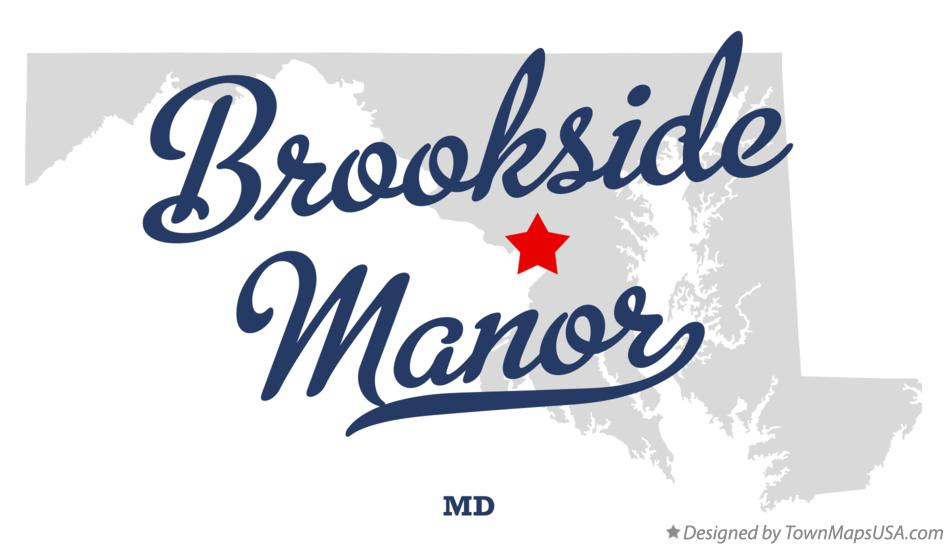 Map of Brookside Manor Maryland MD