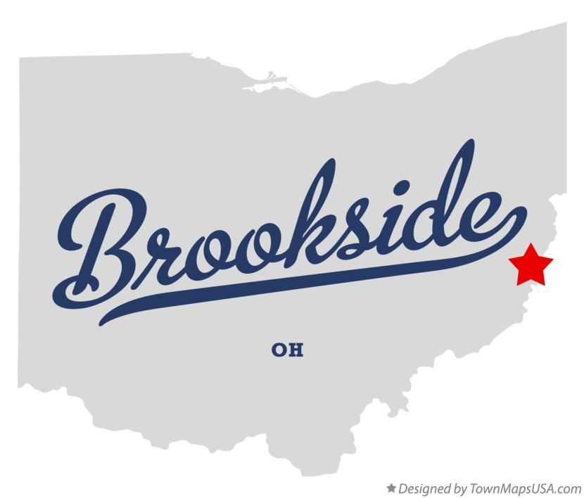 Map of Brookside Ohio OH