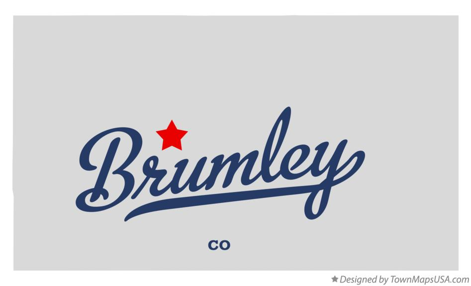 Map of Brumley Colorado CO