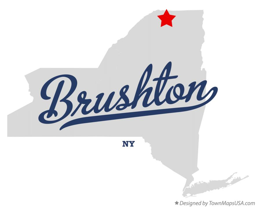 Map of Brushton New York NY