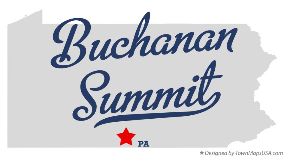 Map of Buchanan Summit Pennsylvania PA