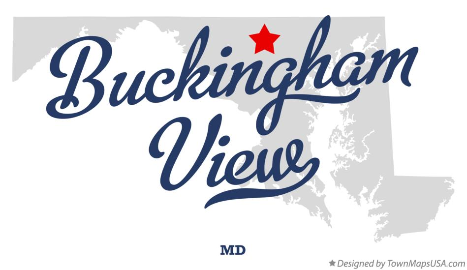 Map of Buckingham View Maryland MD