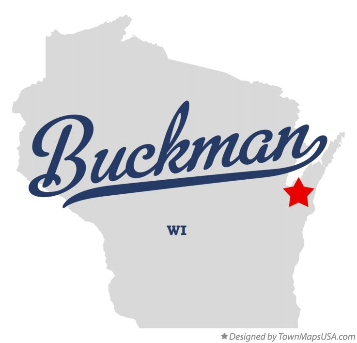 Map of Buckman Wisconsin WI