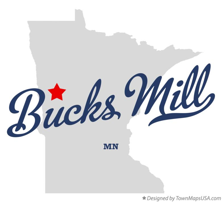 Map of Bucks Mill Minnesota MN